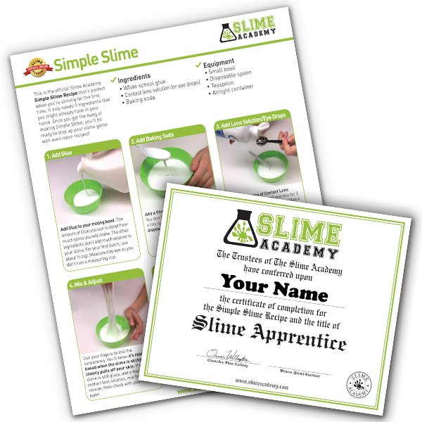 photo about Slime Recipe Printable identify How towards Produce Slime -